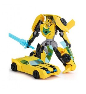 Transformers T-Warrior Bumblebee Dönüşen Robot Araba - 9-56WARRİOR