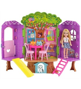 Barbie Club Chelsea Barbie'Nin Ağaç Evi - FPF83