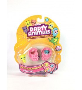 Party Animals 3'lü Figür Set - 60725
